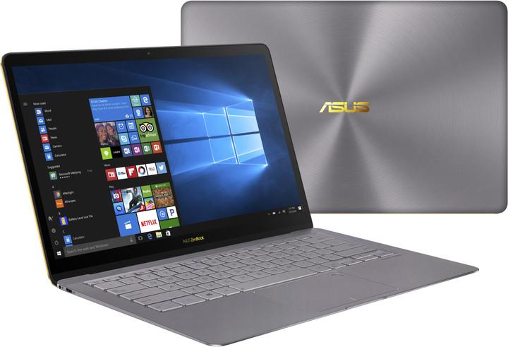 ASUS ZenBook 3 Deluxe UX490UA, šedá