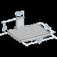 Meliconi 480516 Slim Style AV Shelf Police pro TV komponenty, bílá