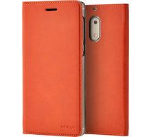 Nokia Slim Flip Case CP-301 for Nokia 6, hnědá - CP-301 Brown