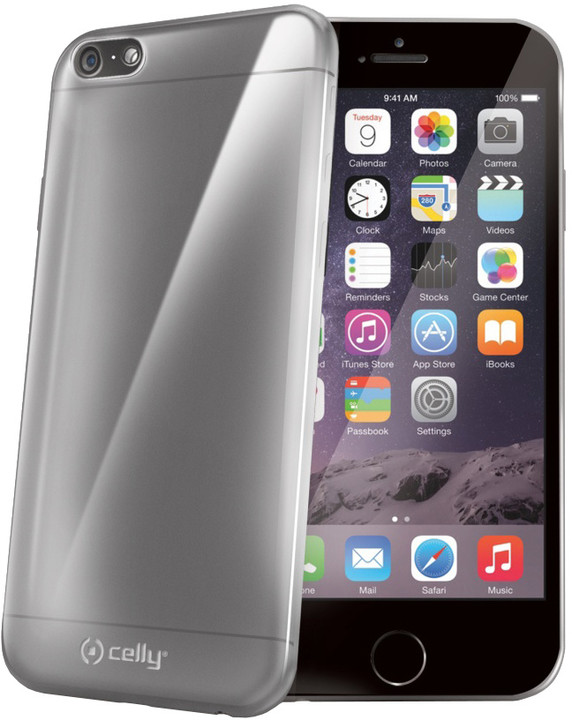 CELLY pouzdro Gelskin pro Apple iPhone 6/6S, TPU, bezbarvé