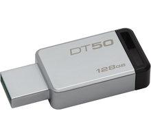 Kingston DataTraveler 50 - 128GB, černá - DT50/128GB