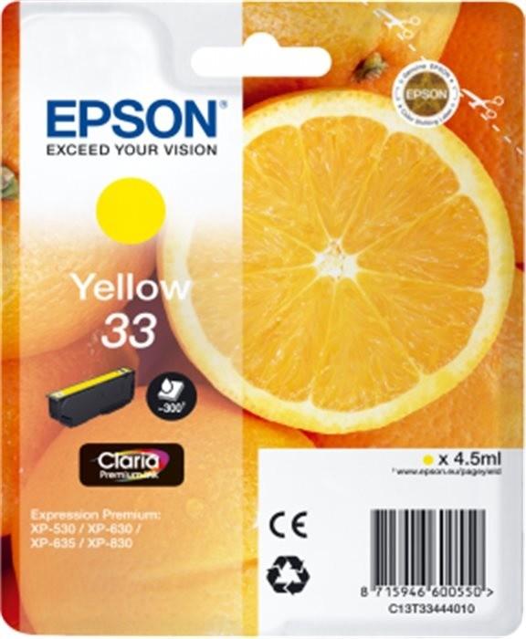 Epson C13T33444010, žlutá