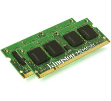 Kingston System Specific 4GB (2x2GB) DDR2 800 brand Apple SODIMM - KTA-MB800K2/4G
