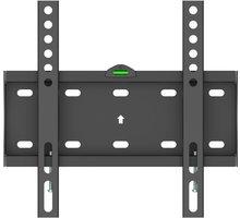 """GoGEN M držák pevný, pro úhlopříčky 23"""" až 42"""", černá - GOGDRZAKFIXM2 + Kabel HDMI 1.4 high speed, ethernet, M/M, 1,5m, opletený, pozlacený, černá barva (v hodnotě 299,-)"""