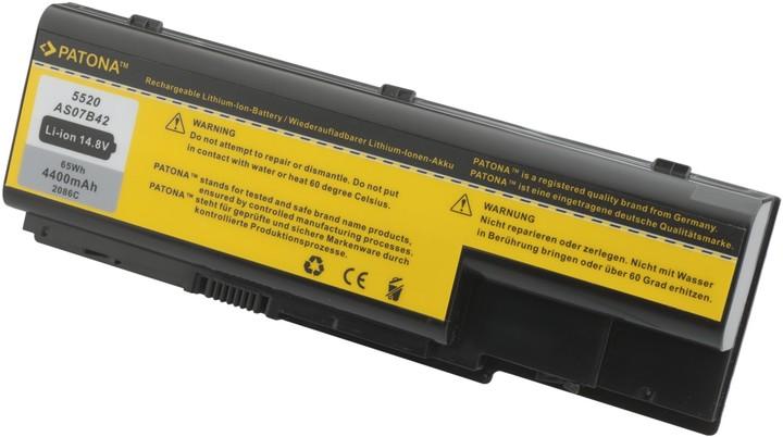 Patona baterie pro ACER, ASPIRE 5220 / 5920 4400mAh Li-Ion 14,8V