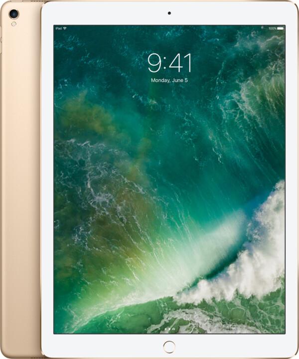 "APPLE iPad Pro Wi-Fi, 12,9"", 256GB, zlatá"