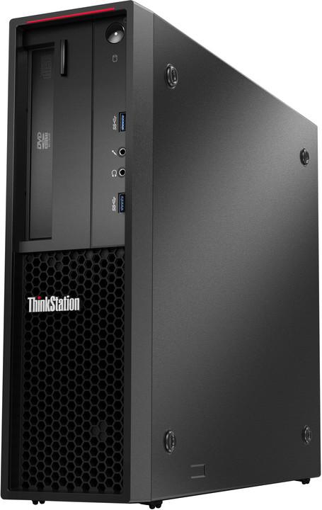 Lenovo ThinkStation P300 SFF, černá