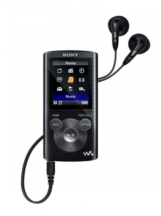 Sony NWZ-E383, 4GB, černá