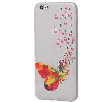 EPICO pružný plastový kryt pro iPhone 6/6S SPRING BUTTERFLY - 4410102500312 + EPICO Nabíjecí/Datový Micro USB kabel EPICO SENSE CABLE
