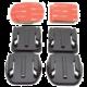 Apei nalepovací držáky rovné 2ks + zakřivené 2ks (GoPro 4/3+/3/2/1, Xiaomi Yi)