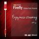 Tunai Firefly Bluetooth Receiver Premium pack, červená