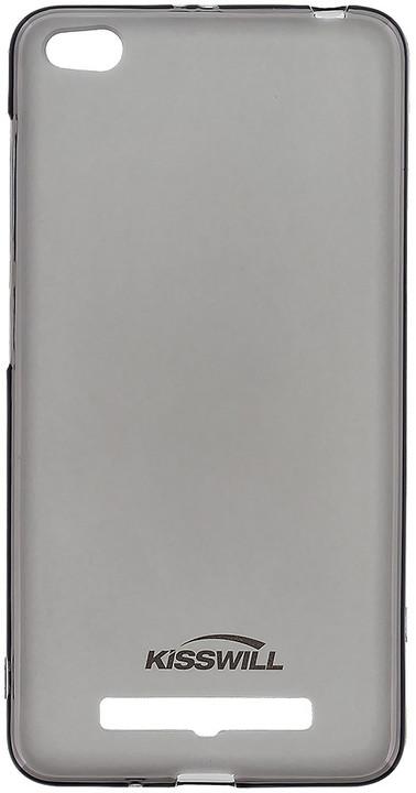 Kisswill TPU pouzdro pro Xiaomi Redmi 4A, černá