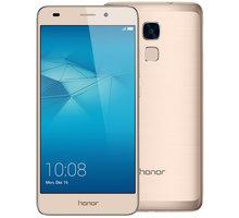 Honor 7 Lite, zlatá - 51090MRS + Zdarma SIM karta Relax Mobil s kreditem 250 Kč
