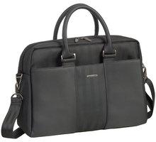 """RivaCase 8121 dámská business taška na notebook 14"""", černá - RC-8121-B + Zdarma dámské zrcátko v pouzdru (v ceně 79,-)"""