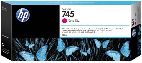 HP F9K01A no. 745 (300ml), magenta