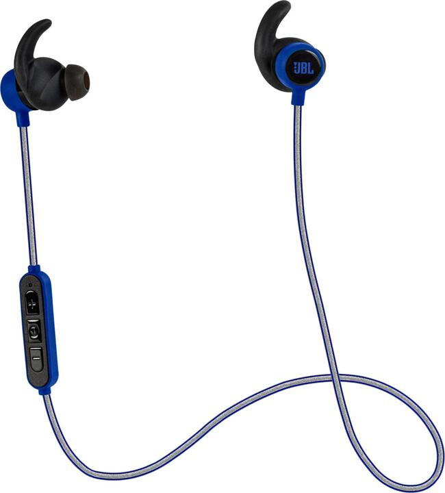 JBL Reflect Mini BT, modrá