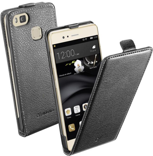 CellularLine Flap Essential pouzdro pro Huawei P9 Lite, PU kůže, černé