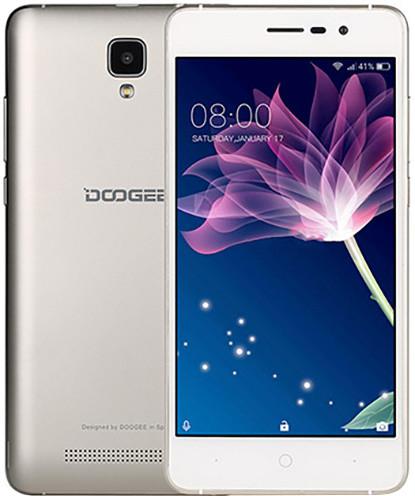 DOOGEE X10 - 8GB, zlatá