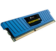 Corsair Vengeance Low Profile Blue 8GB (2x4GB) DDR3 1600 CL 9 - CML8GX3M2A1600C9B