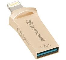 Transcend JetDrive Go 500 - 32GB, zlatá - TS32GJDG500G