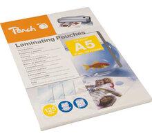 PEACH laminovací fólie A5, 125mic, 25ks - PPR525-03