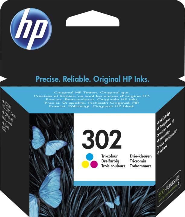 HP F6U65AE, barevná, č. 302
