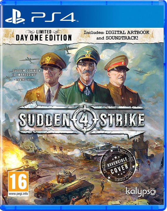 Sudden Strike 4 - Limited Day One Edition (PS4)
