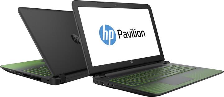 HP Pavilion 15 Gaming Edition (15-ak001nc), černá