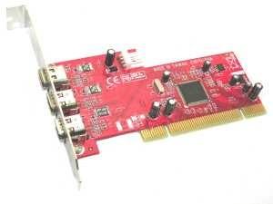 Kouwell FW-101TI PCI FireWire řadič 3x 1394a port