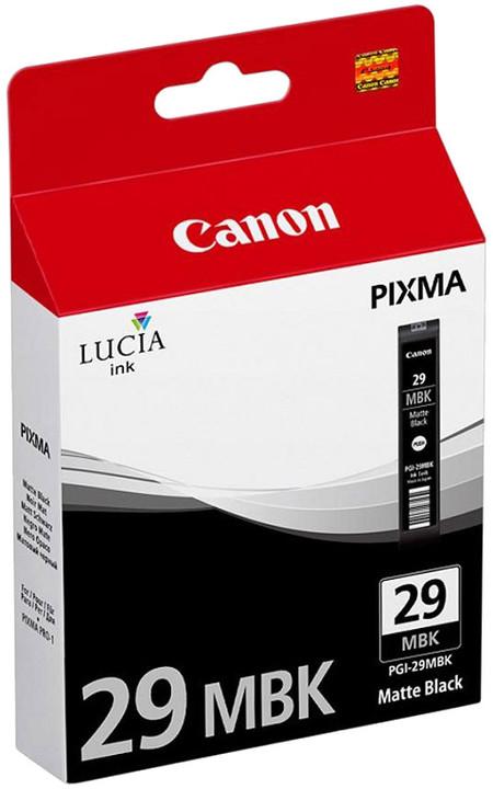 Canon PGI-29 MBK, matná černá