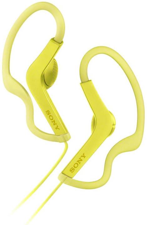 Sony MDR-AS210, žlutá