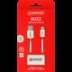 Skross Alarm USB kabel BUZZ Lightning Connector, akustické upozornění, délka 1m
