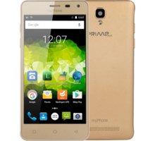 myPhone Prime Plus, zlatá - TELMYAPRIMEPGO