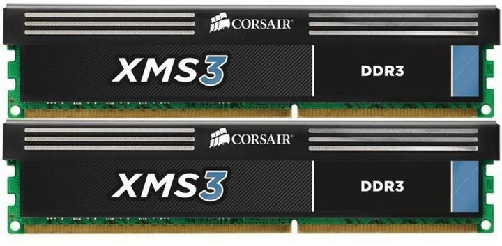 Corsair XMS3 4GB (2x2GB) DDR3 1600