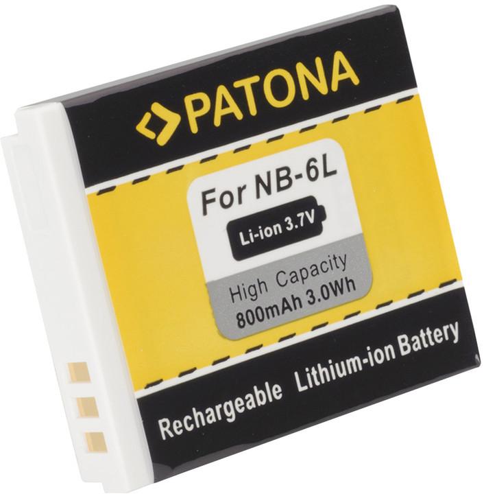 Patona baterie pro Canon, NB-6L 800mAh Li-Ion 3.6V