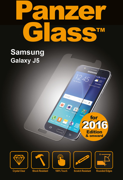 PanzerGlass ochranné sklo na displej pro Galaxy J5 (2016)