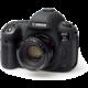 Easy Cover silikonový obal Reflex Silic pro Canon 5D Mark IV, černá