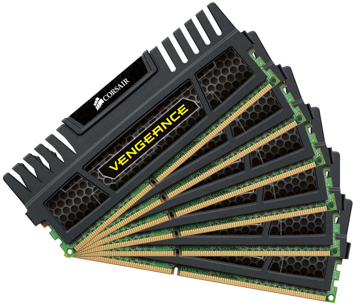 Corsair Vengeance Black 24GB (6x4GB) DDR3 1600
