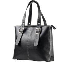 HP Ladies Leather Tote, černá - F3W13AA