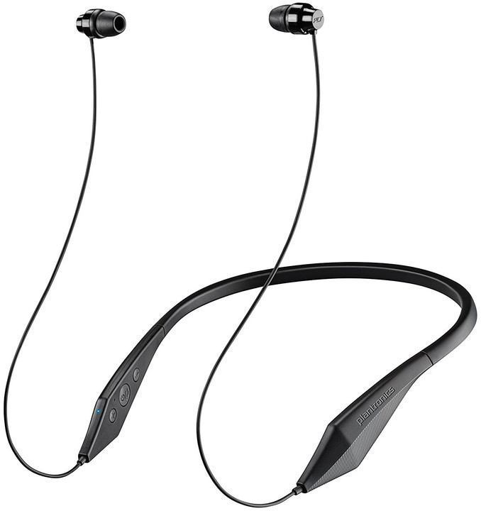 Plantronics Backbeat 100 stereo headset, bluetooth v 4.1, černá