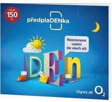 O2 Mobilní internet O2 PředplaDENka - SMALLPO2.150DV34