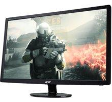 """Acer S241HLCbid - LED monitor 24"""" - UM.FS1EE.C01 + Herní podložka pod myš myš A4tech X7-300MP (v ceně 159,-)"""