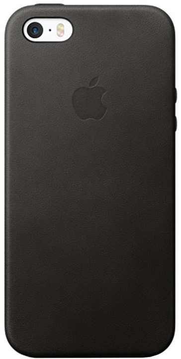 Apple iPhone SE Leather Case, Black