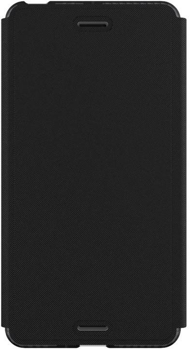 Tech21 Evo Wallet pouzdro typu kniha pro Sony Xperia X, kouřové