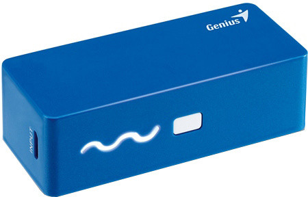 Genius powerbank ECO-u261, 2600 mAh, modrá
