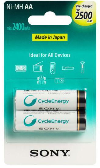 Sony NiMH nabíjecí baterie AA / 2500 mAh / 2 ks v blistru