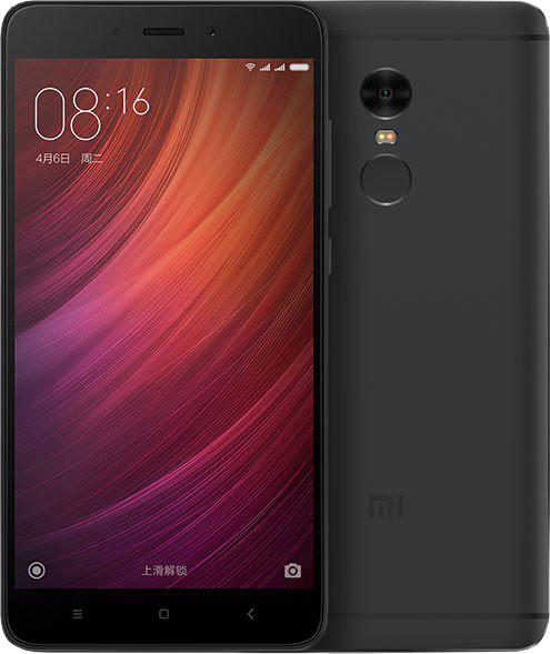Xiaomi Redmi Note 4, CZ LTE - 32GB, černá