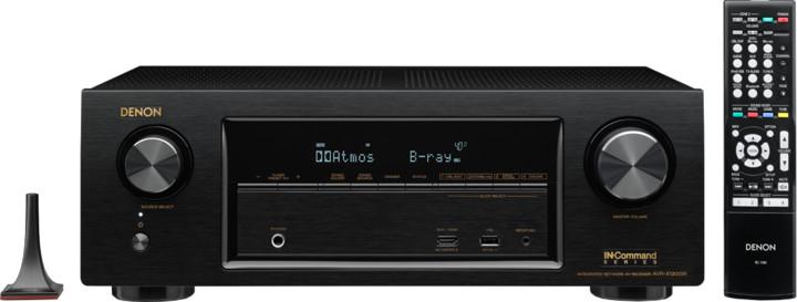 Denon AVR-X1300W, černá