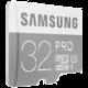Samsung Micro SDHC PRO 32GB UHS-I U3 + SD adaptér