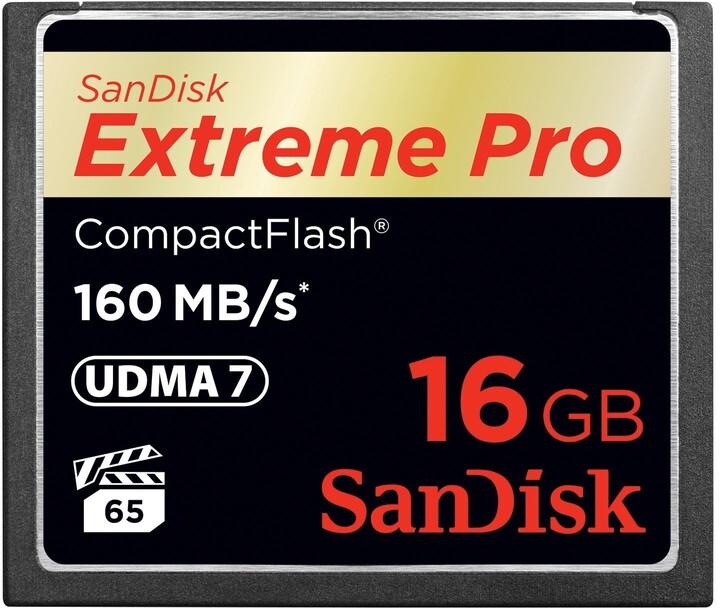 SanDisk CompactFlash Extreme Pro 16GB 160MB/s